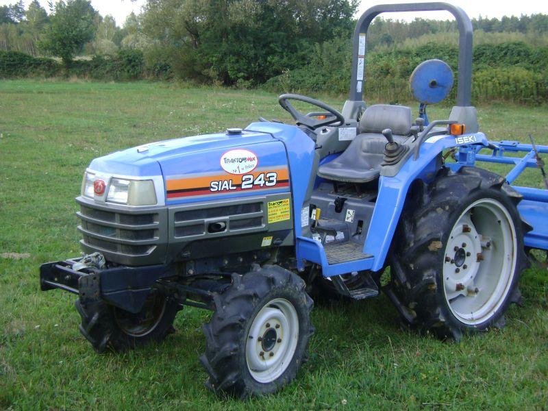 ciągnik do koszenia trawy
