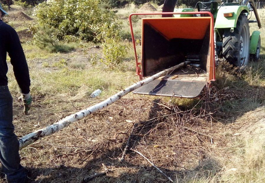 zrębkowanie krzewów rzeszów, głogów młp podkarpackie 3
